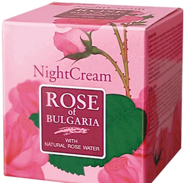 Rózsás éjszakai krém