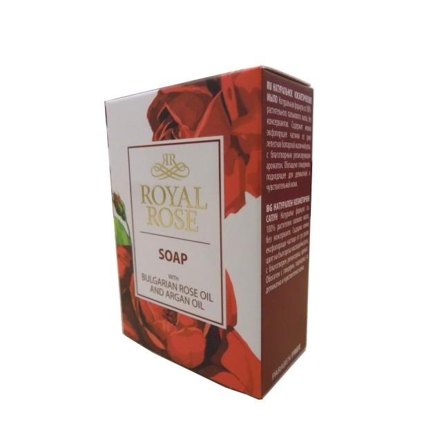Royal Rose Bio Fresh rózsás növényi szappan rózsaszirom - argánolajjal 100g