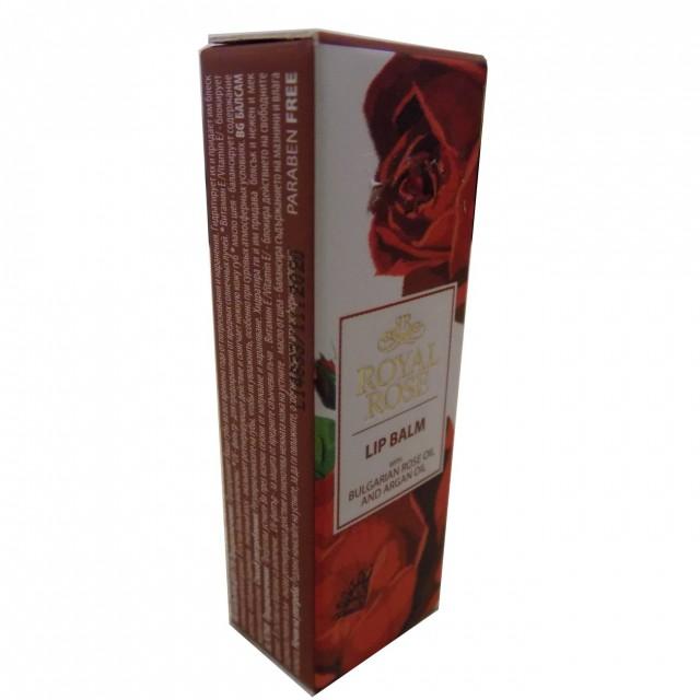 Bio Fresh rózsás ajakbalzsam 5ml